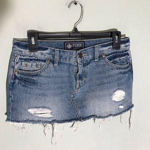 Victoria secret Pink Jean skirt size 0